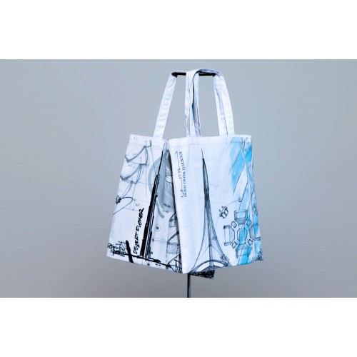 Reusable twill cloth bags