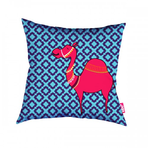 Camel Maze Cushion Cover
