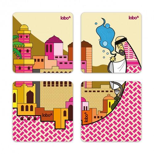 Shisha & Domes Coasters
