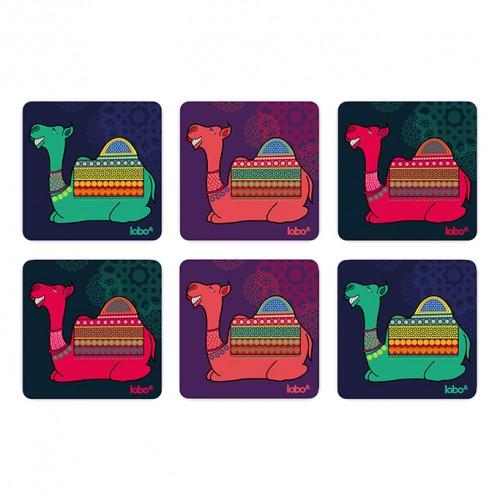 Geeky camel coasters