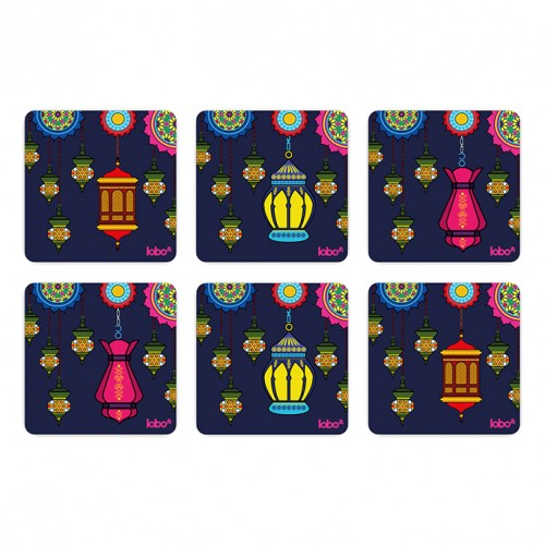 Legend of the Lamps Coasters