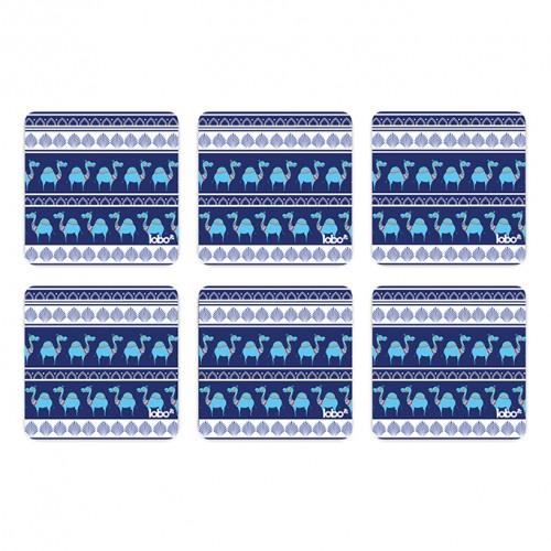 Blue Camel Parade Coasters