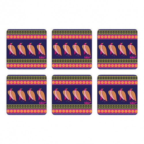 Falcon Pattern Coasters