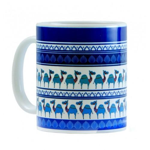 Blue Camel Parade Mug