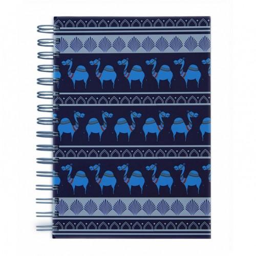 Blue Camel Parade Notebook