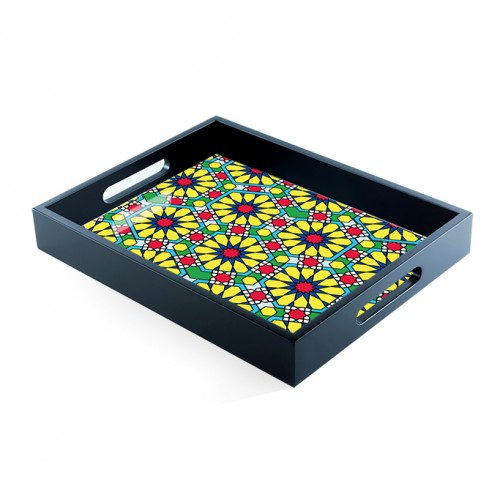 Floral Freeflow Tray