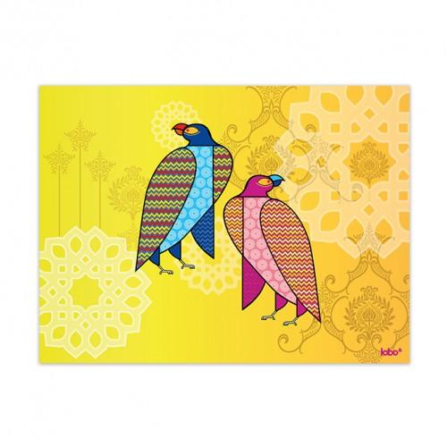 Falcon Poise wall art