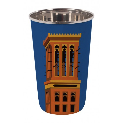 Wind Tower Tumbler - Blue