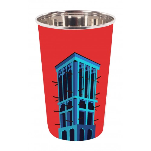Wind Tower Tumbler - Red